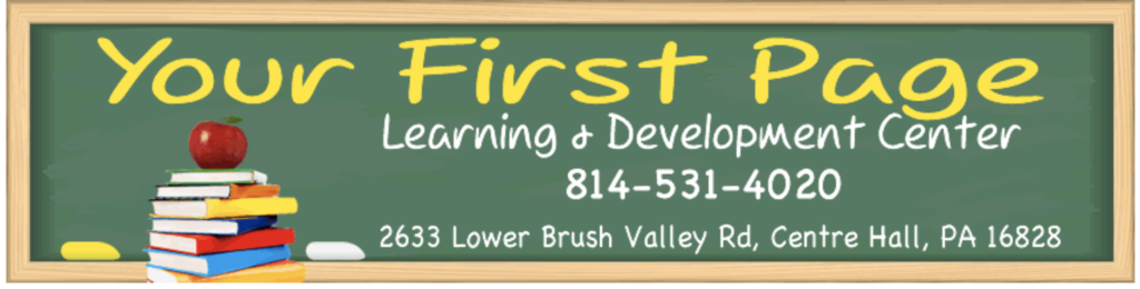 Your First Page Learning Center